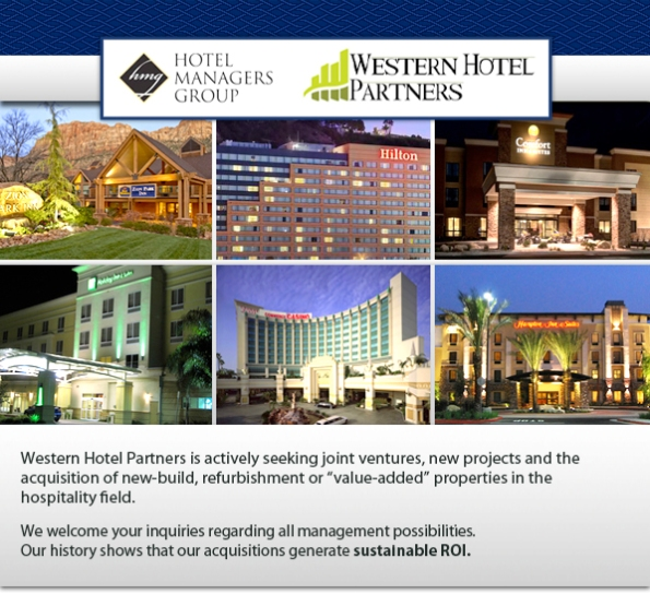 HMG Hotels and Western Hotel Partners