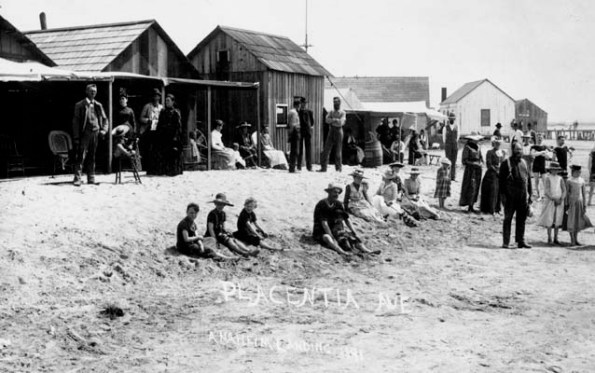 Orange County - old picture beach 1898