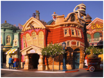 Photo Disneyland Toonland