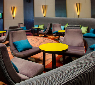 Cozy Atmosphere in Hotel Lobby