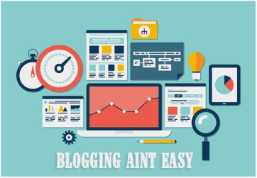 BLOGGING AINT EASY
