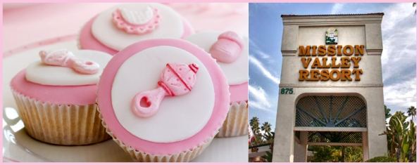 Baby Shower Graphic/Mix with Mission Valley Resort