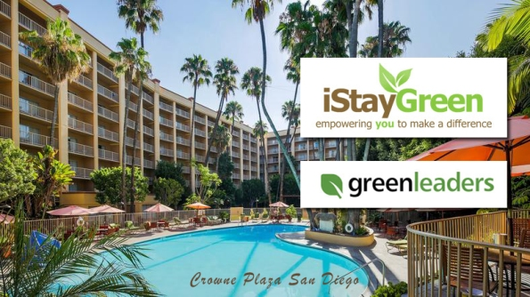 Green Hotel - the Crowne Plaza in San Diego